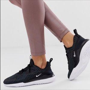 🆕 Nike women's black sneakers running shoes- 10